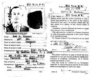Leo Aage Hansens passport application page 3